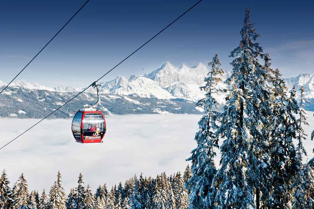 Skifahren macht Spaß