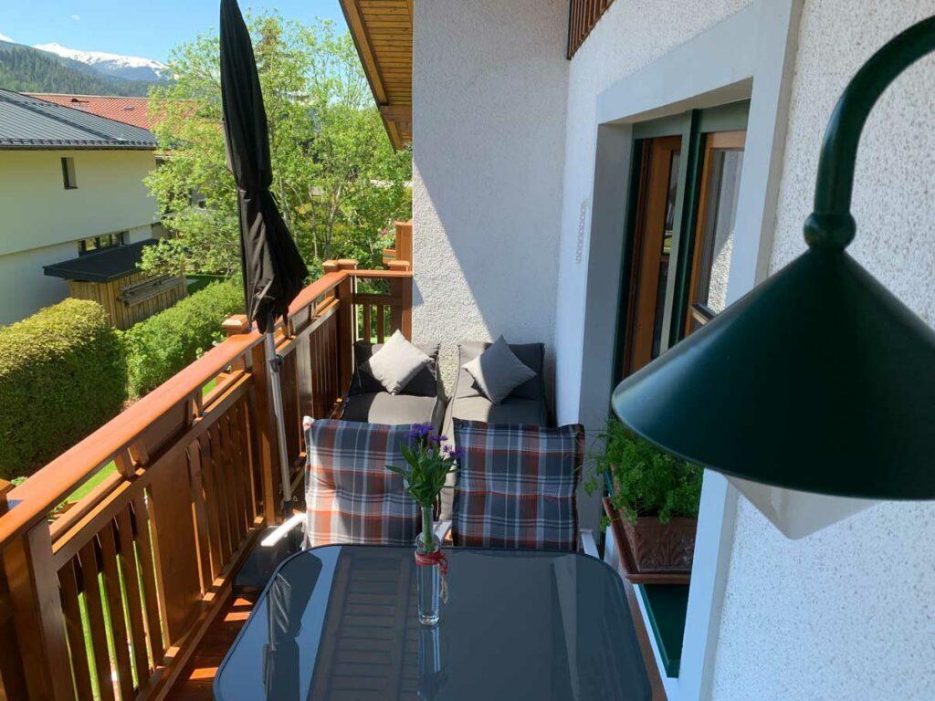 Balkon zum Plaudern