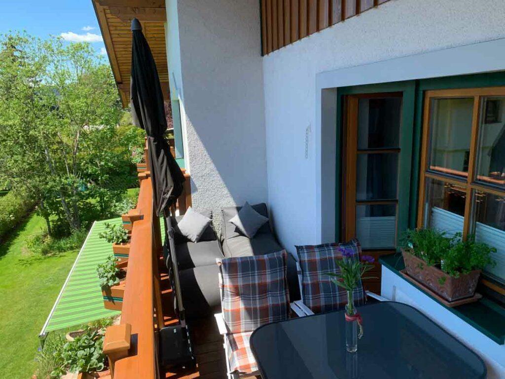 Balkon zum Schlemmen