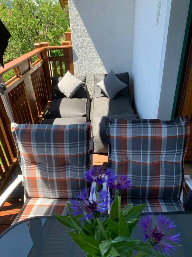 Balkon zum Relaxen